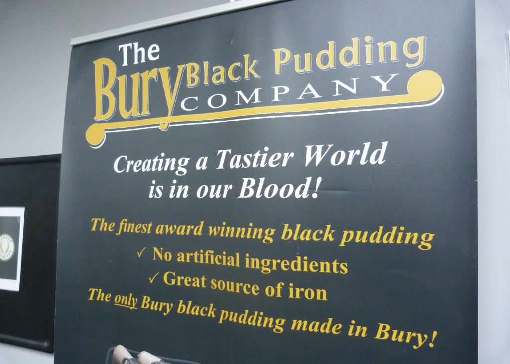 bury black pudding how to cook