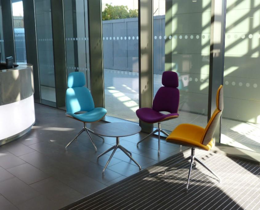 Warrington Borough Council - Reception Furniture - Office Furniture Delivery & Installation
