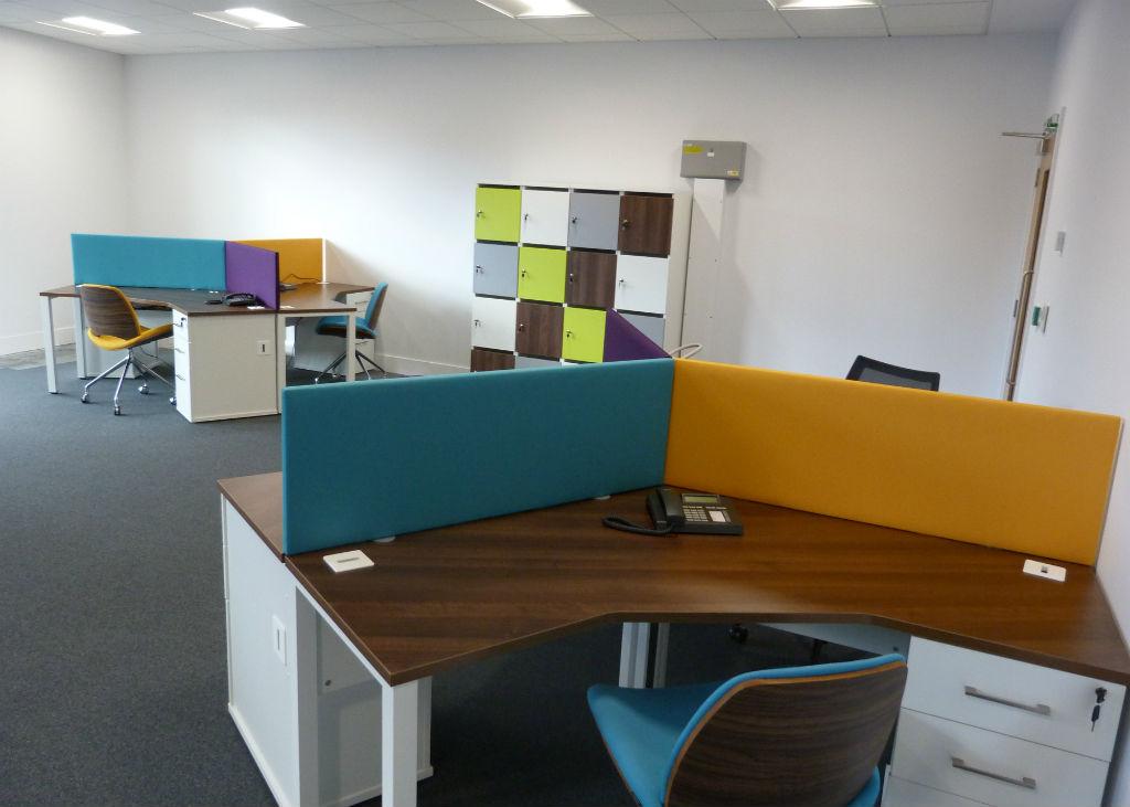 Warrington Borough Council Bevlan Office Interiors