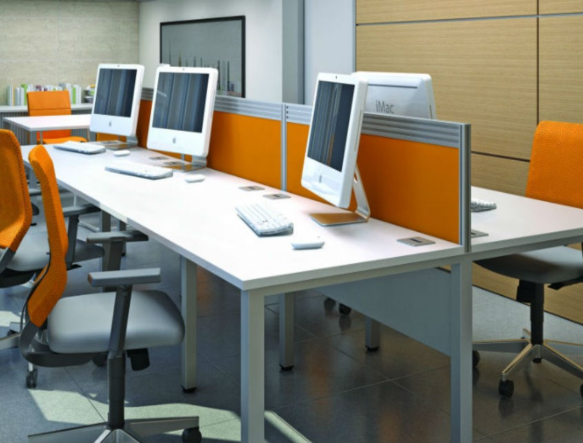 Pure Bench Desk - Bench Desks - Office Desks