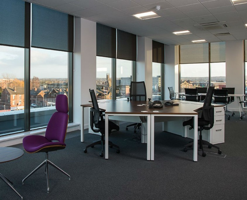 The Base - Warrington Borough Council - Office Furniture Delivery & Installation