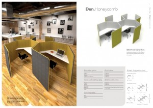 DEN Range - Acoustic Pods - Office Screens