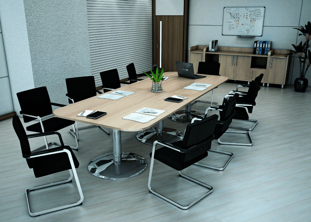 Reunion Boardroom Table │meeting Table Office Interiors