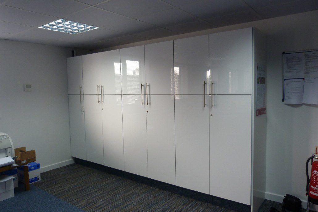StoreWall: Floor to Ceiling Storage | Bevlan Office Interiors