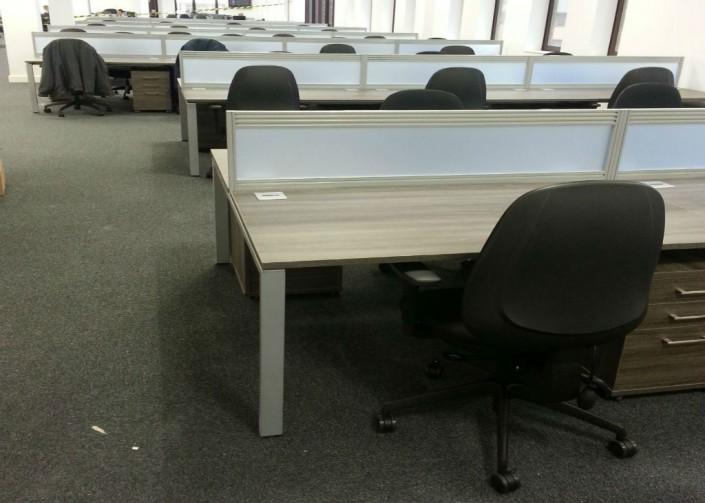 Liberata in Liverpool Straight Desk Area