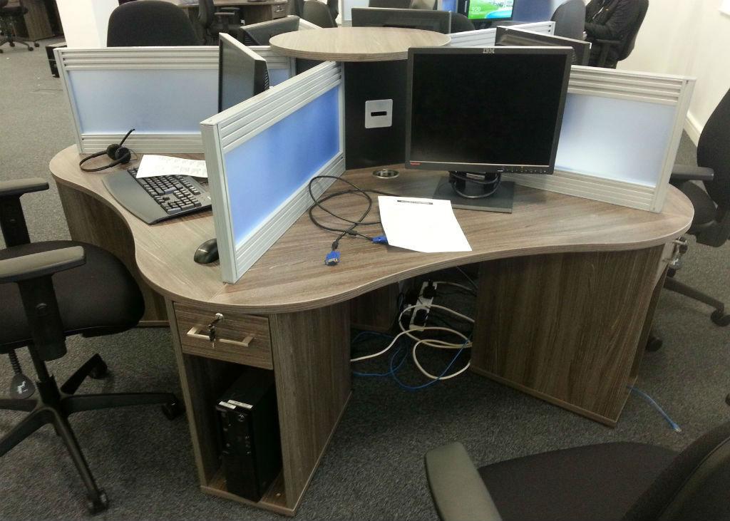 Liberata in Liverpool Four Way Desk