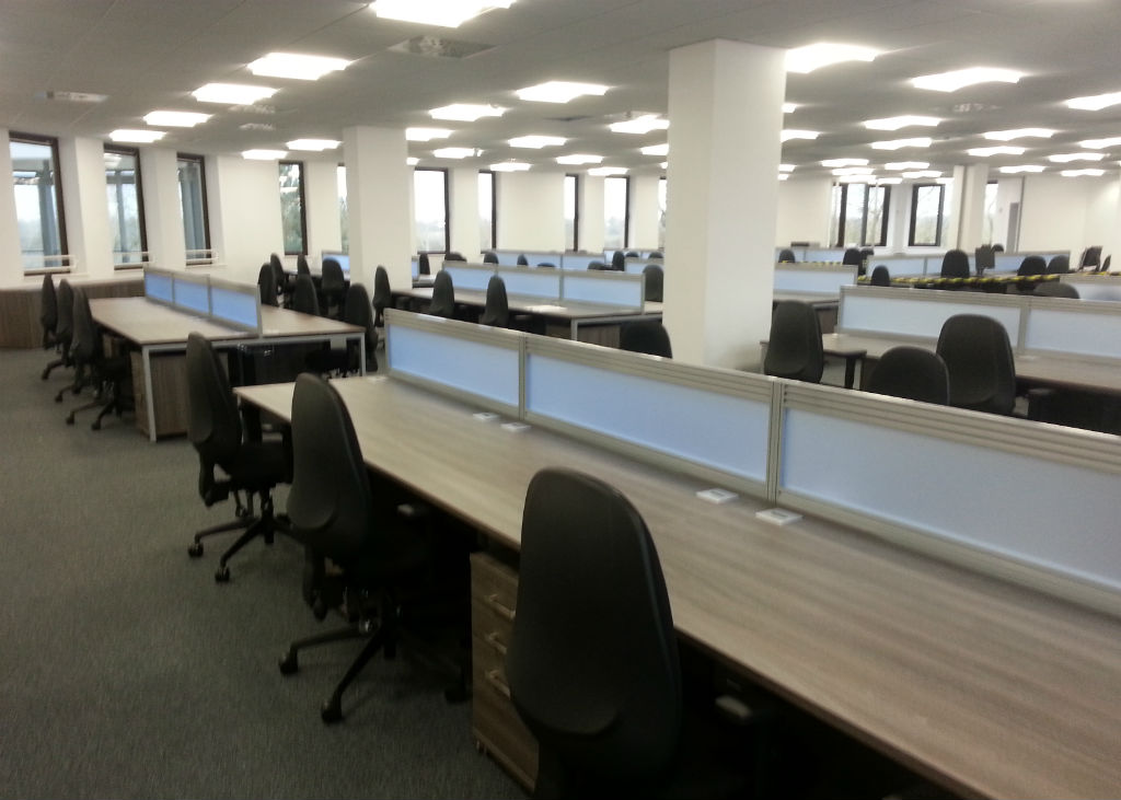 Liberata in Liverpool Straight Office Desks