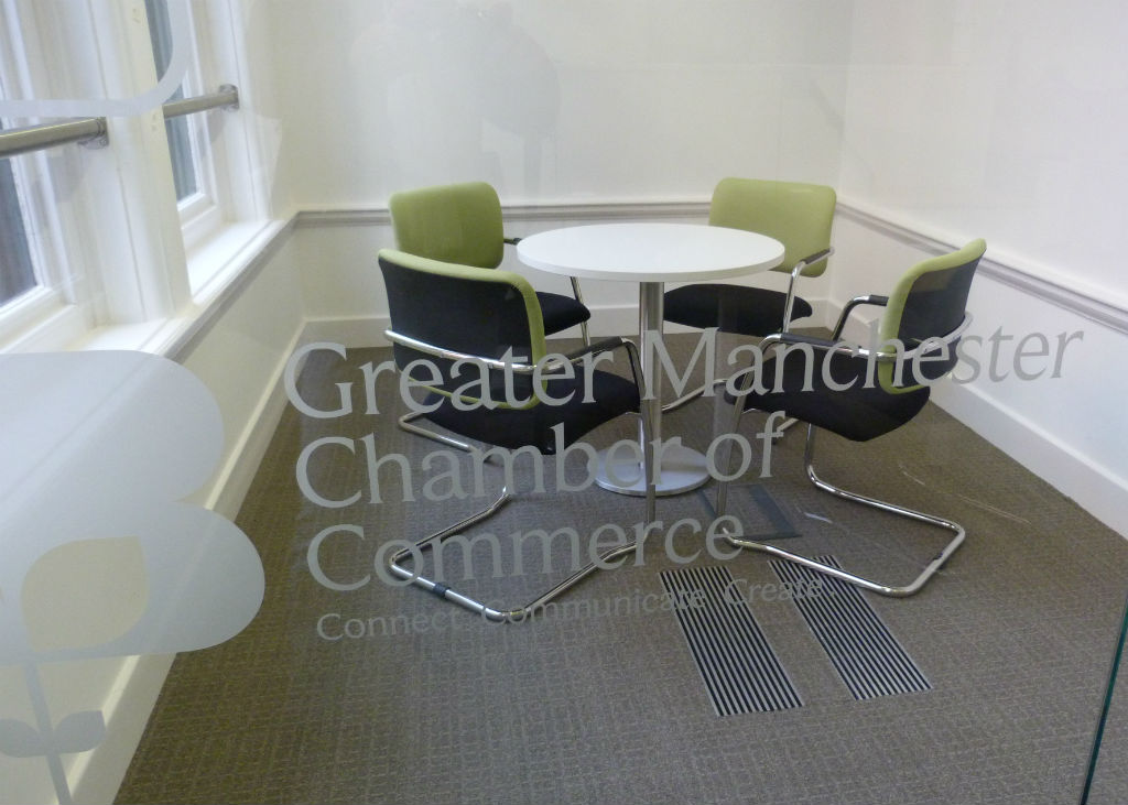 Chamber of Commerce in Manchester Circular Meeting Area
