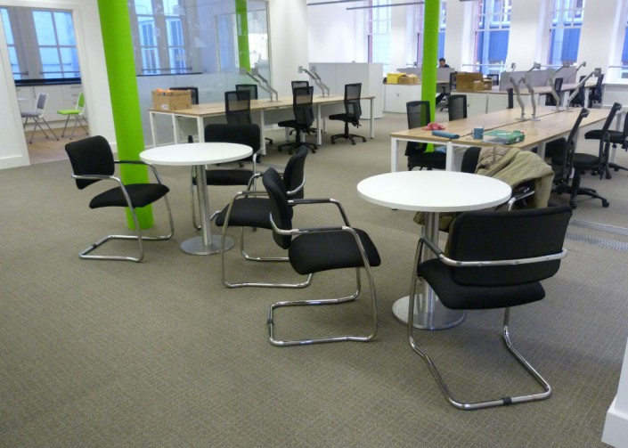 Manchester Chamber of Commerce Bistro Area