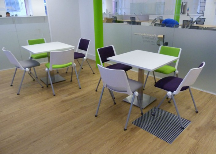 Manchester Chamber of Commerce Cafe Area