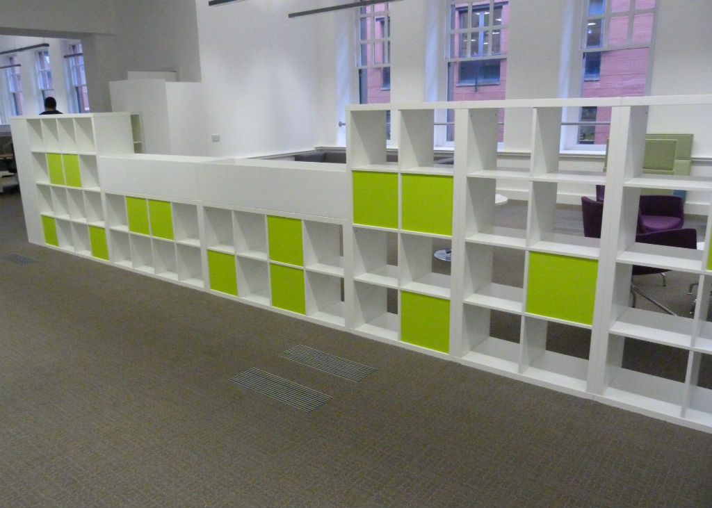 Manchester Chamber of Commerce Storage Wall