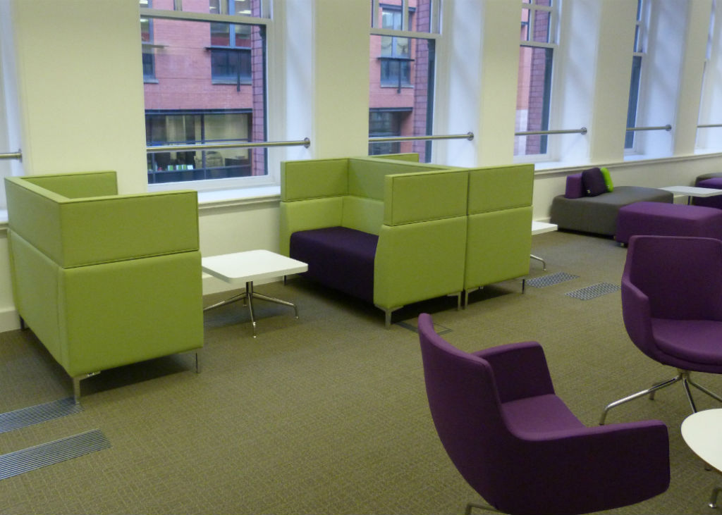 Chamber of Commerce in Mancester High Seating Area