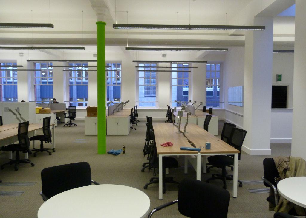 Manchester Chamber of Commerce Ibench Desking