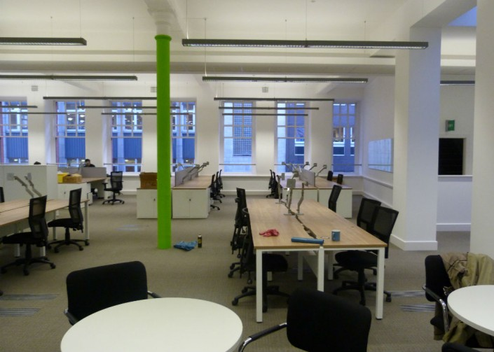 Chamber of Commerce in Manchester - Bench Desks - Office Desks