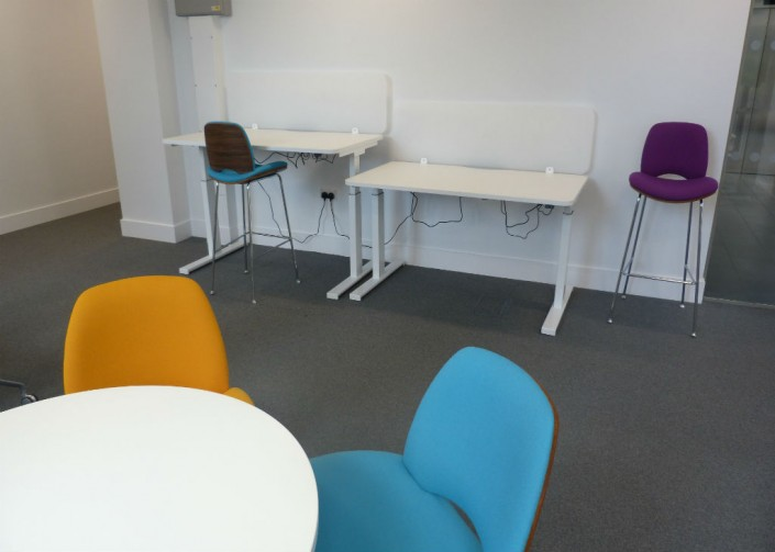 Warrington Borough Council Height Adjustable Desks