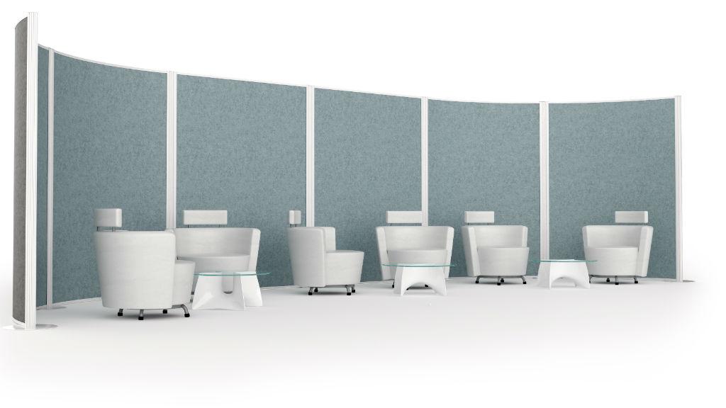 Floor Standing Screens - Acoustic Pods - Office Screens