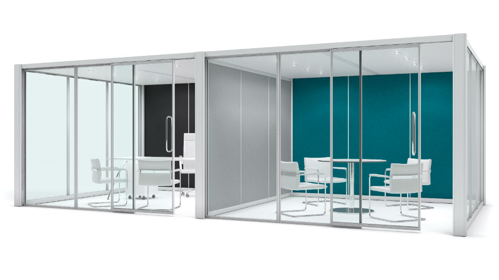 Floor Standing Screens - Acoustic Pods - Office Screens