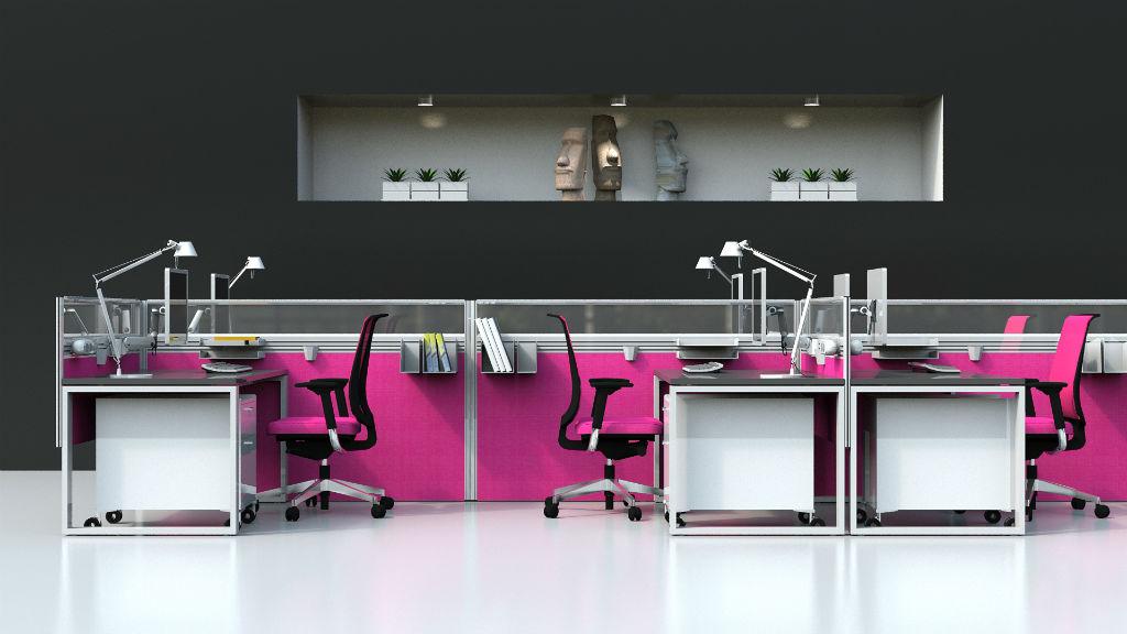 Sprint Screen - Floor Standing Screens - Office Screens