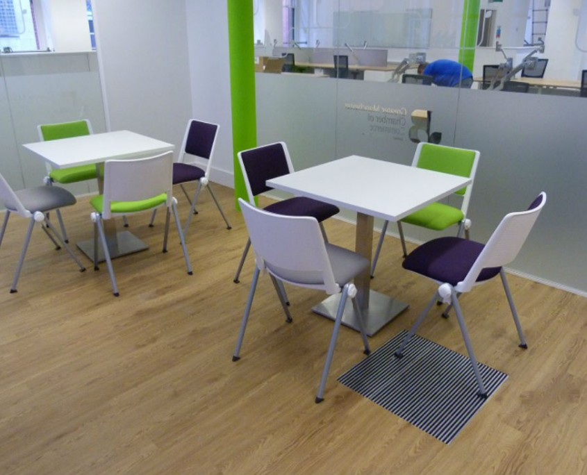 Manchester Chamber of Commerce - Breakout Furniture - Office Furniture Delivery & Installation