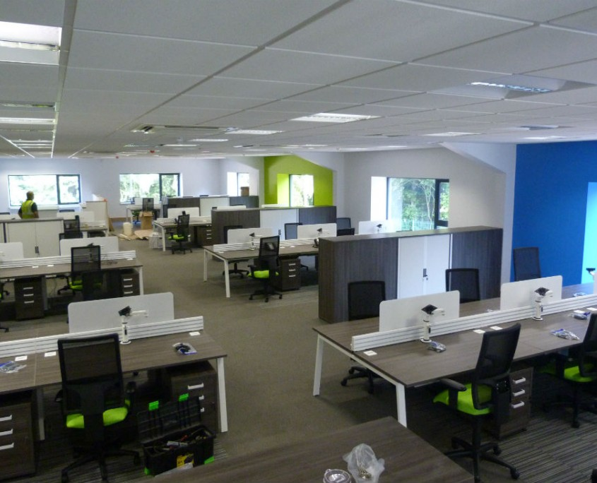 Morris & Spottiswood - Bench Desks - Office Desks