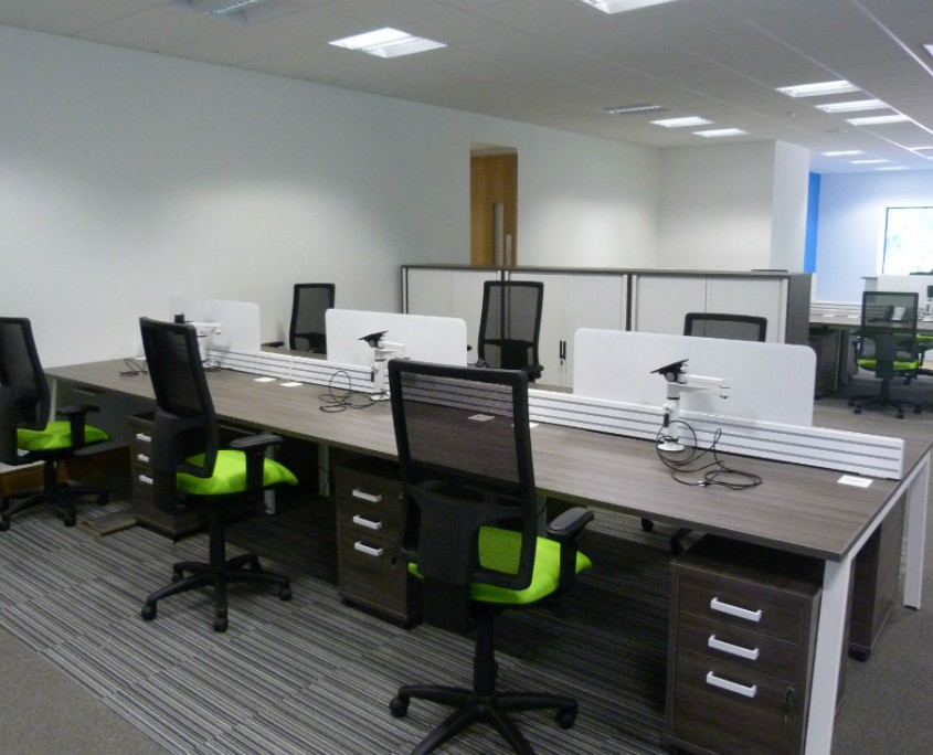 Morris & Spottiswood - Bench Desks - Office Desks