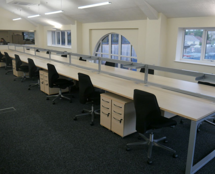 Barron Wood - Bench Desks - Office Desks