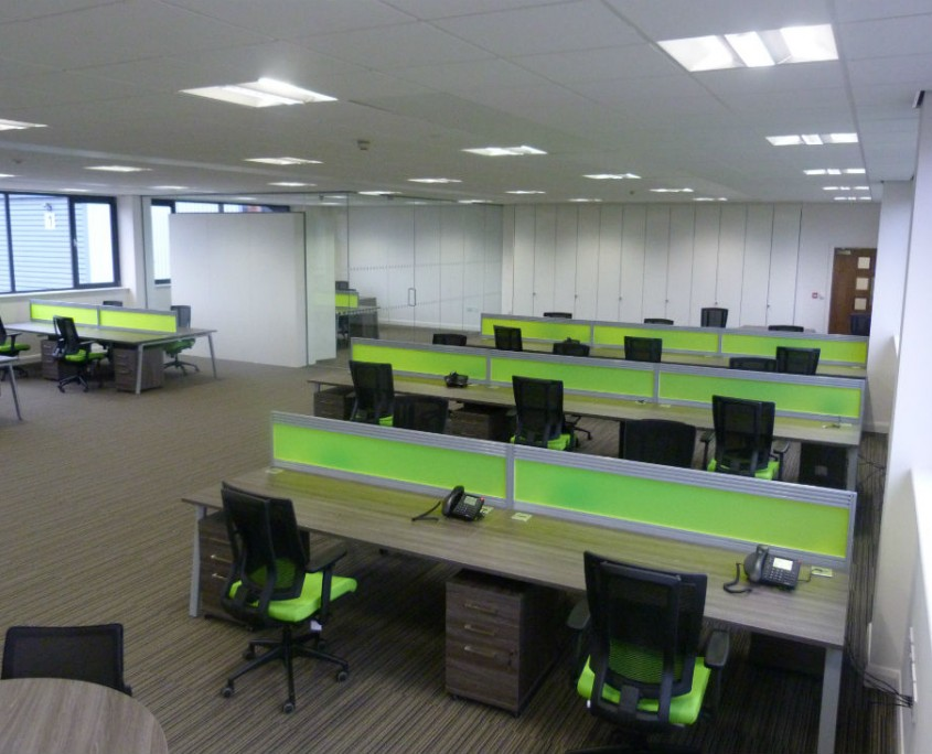 Tygavac - Bench Desks - Office Desks
