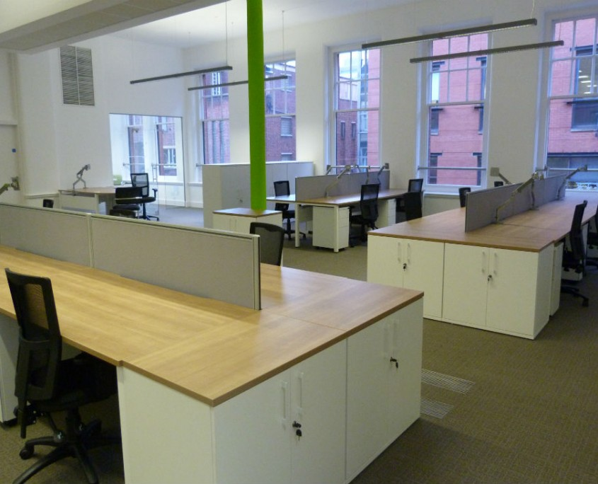 Manchester Chamber of Commerce - Bench Desks - Office Desks