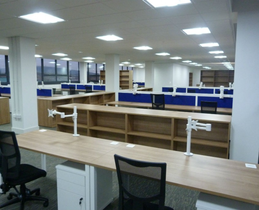DTE Group - Bench Desks - Office Desks
