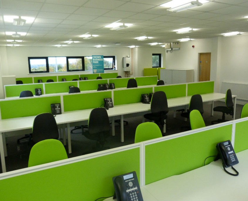 Greenage - Bench Desks - Office Desks