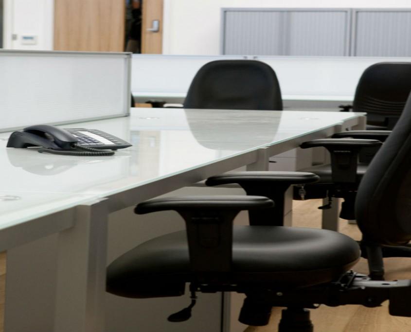Projection Lighting - Bench Desks - Office Desks