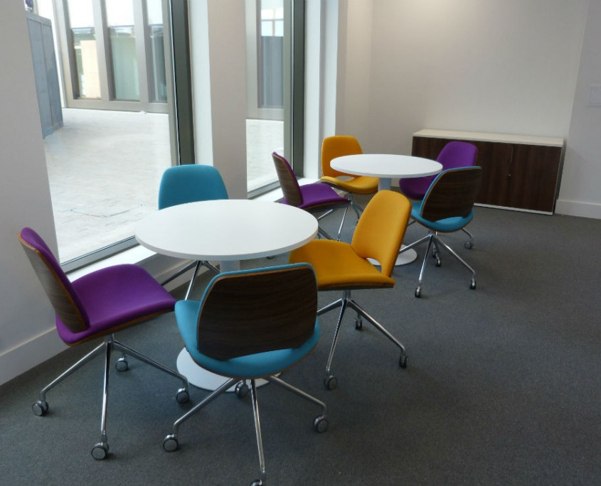 Warrington Borough Council - Breakout Furniture - Office Furniture Delivery & Installation