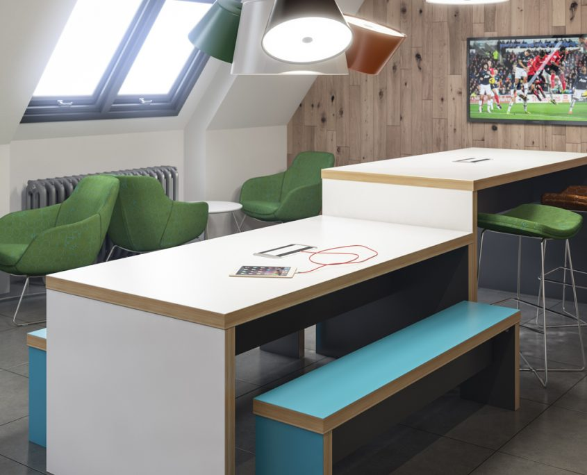 Bench Seating - Wagamama Bench - Breakout Furniture