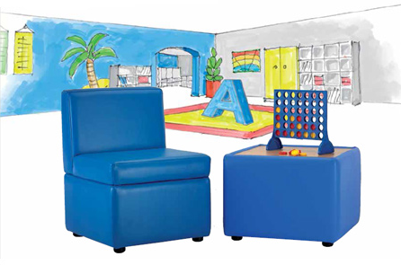 Hi Five Chair - Office Chairs - Educational Furniture