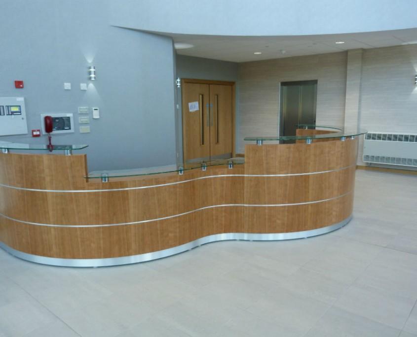 Tula Reception Counter - Reception Desks - Reception Furniture