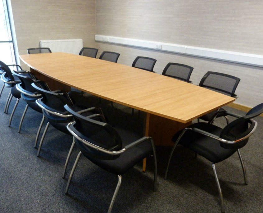 Nice Pak - Boardroom Table - Boardroom Furniture - Office Furniture Delivery & Installation