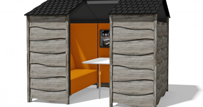 Huddle Shed - Seating Booths - Breakout Furniture