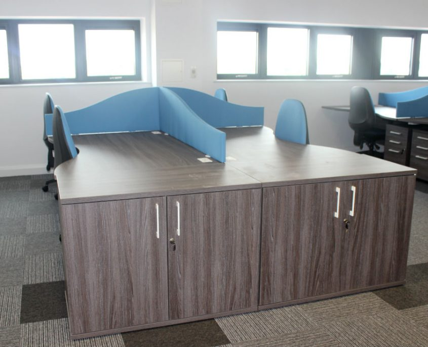 Wood Storage - Office Desks - Office Furniture Delivery & Installation