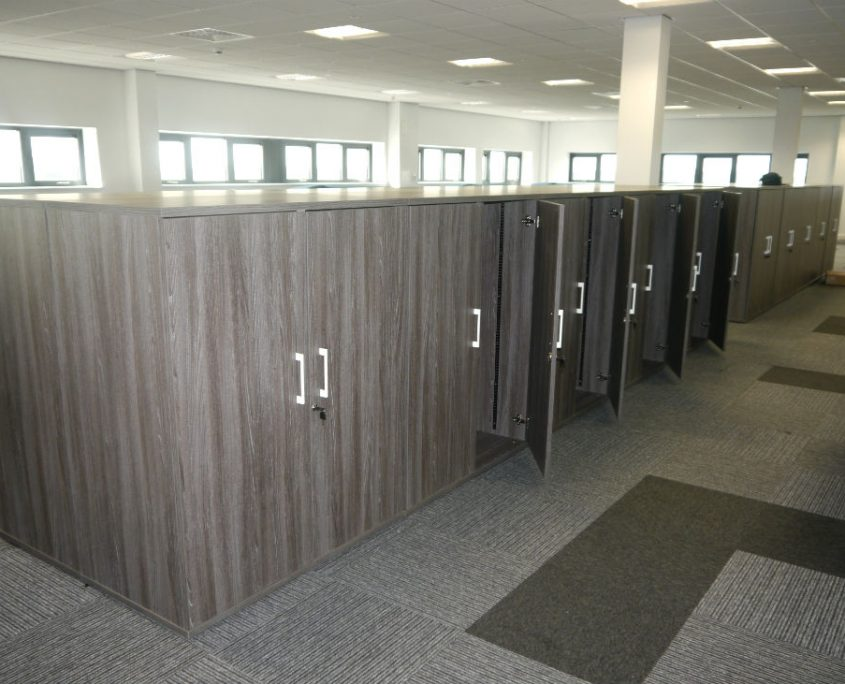 Wood Storage - Storage - Office Furniture Delivery & Installation