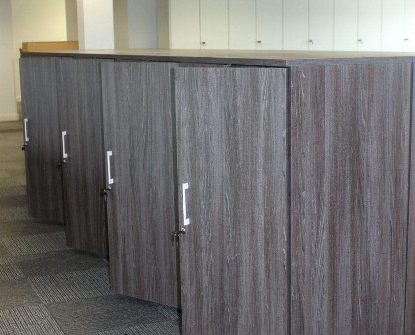 Wood Storage - Office Installation - Office Furniture Delivery & Installation