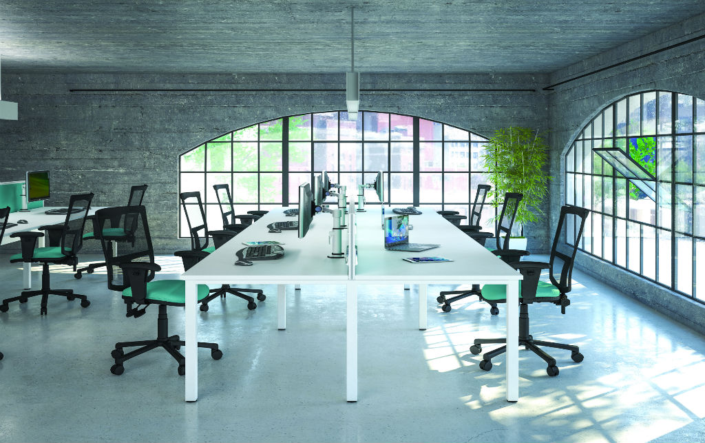 Pure Bench Desk - Bench Desks - Office Desks