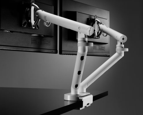Dual Monitor Arm - Monitor Arms - Office Accesories