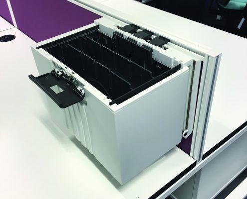 Screen Mounted Storage Box - Storage Box - Office Accesories