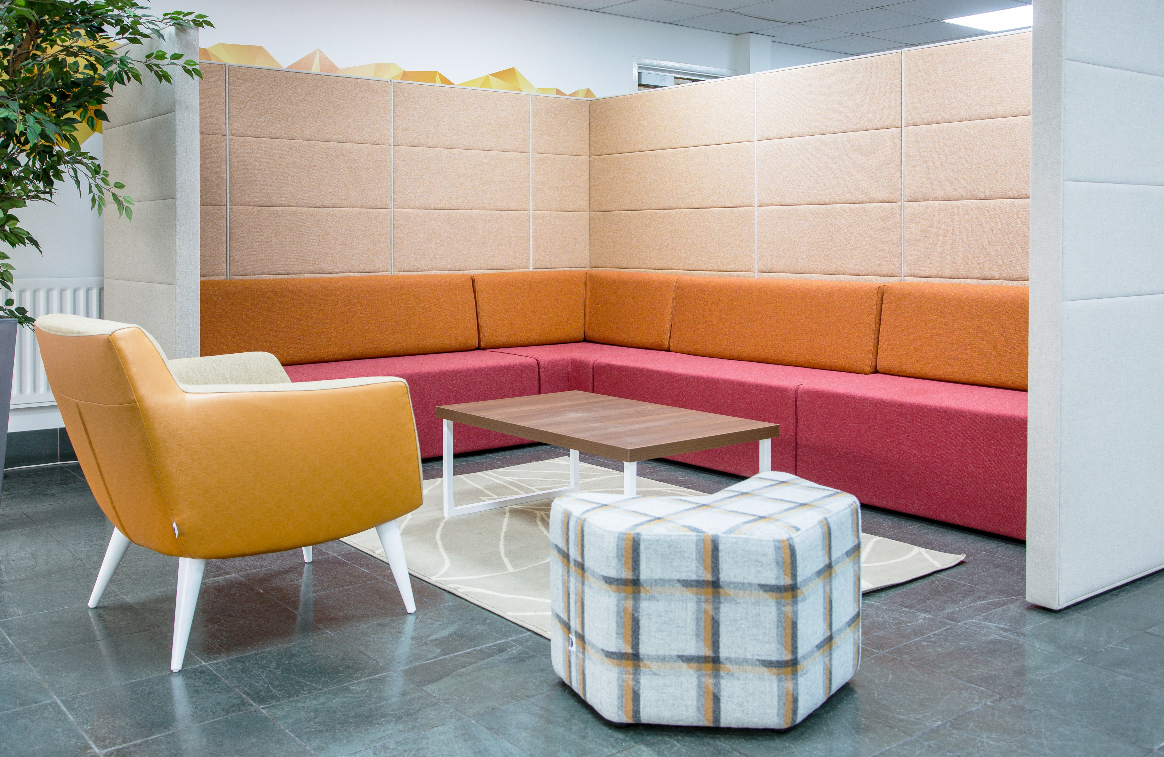 Adytum Space Booth - Seating Booths - Breakout Furniture