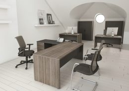 Radial Executive Desk - Executive Desks - Office Desks