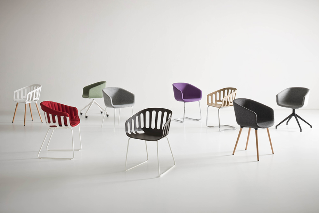 Basket Chair - Bistro Chairs - Bistro Furniture - Breakout Furniture