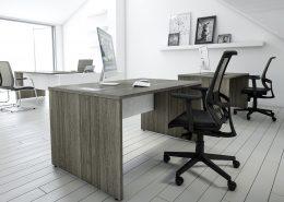 Rectangular Executive Desk - Executive Desks - Office Desks
