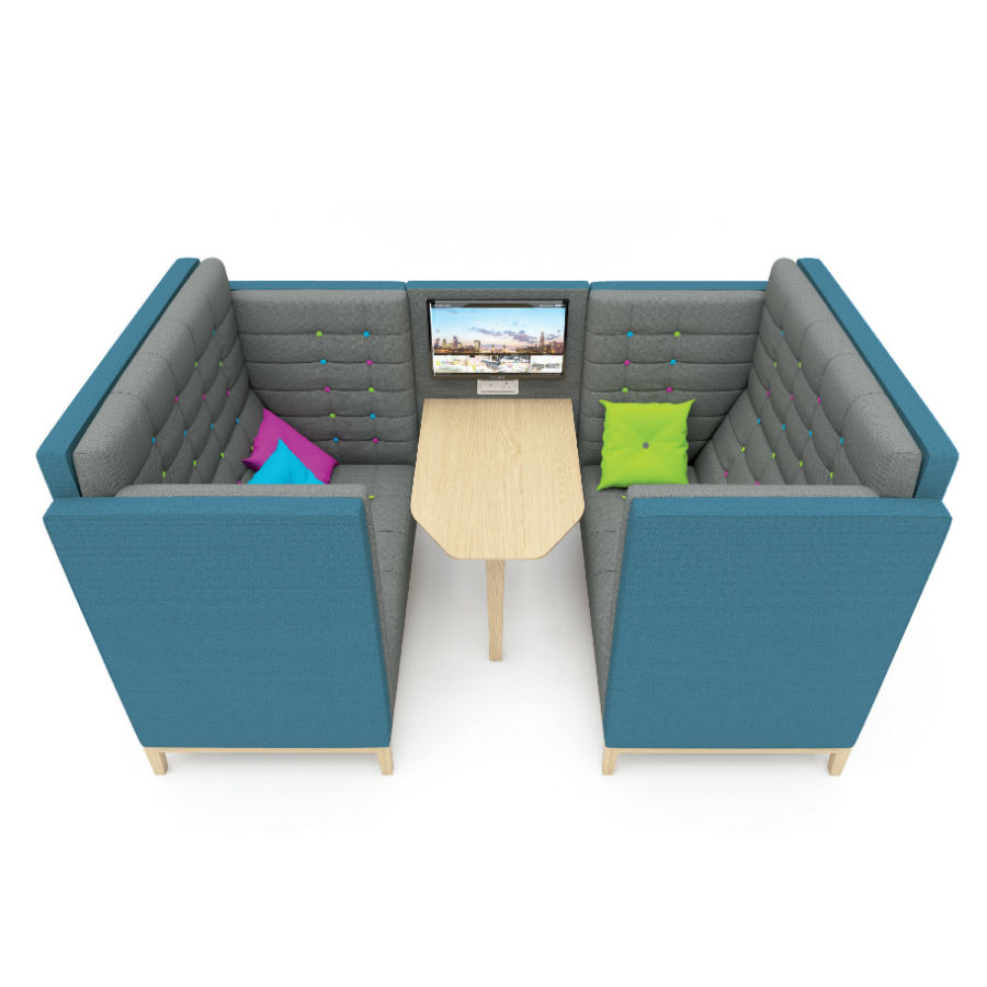 Jig Cave - Seating Booths - Breakout Furniture