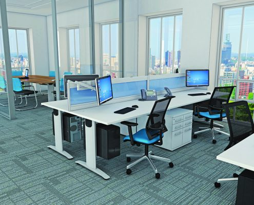Mesh Back Chair - Office Chairs - Ergonomic Seating