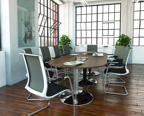 Mesh Back Chair - Visitor Chairs - Meeting Room Furniture